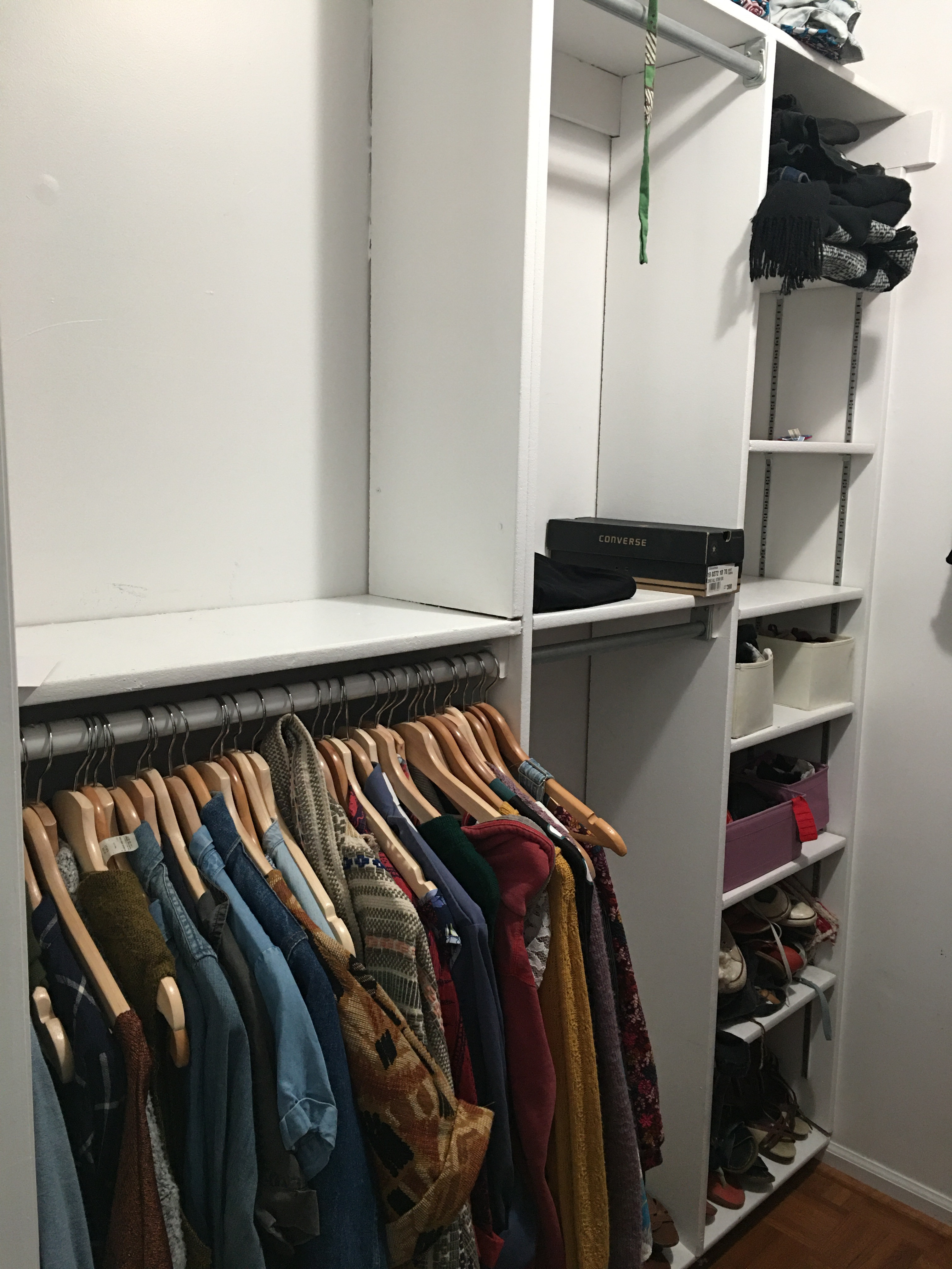 Clear out of the closet